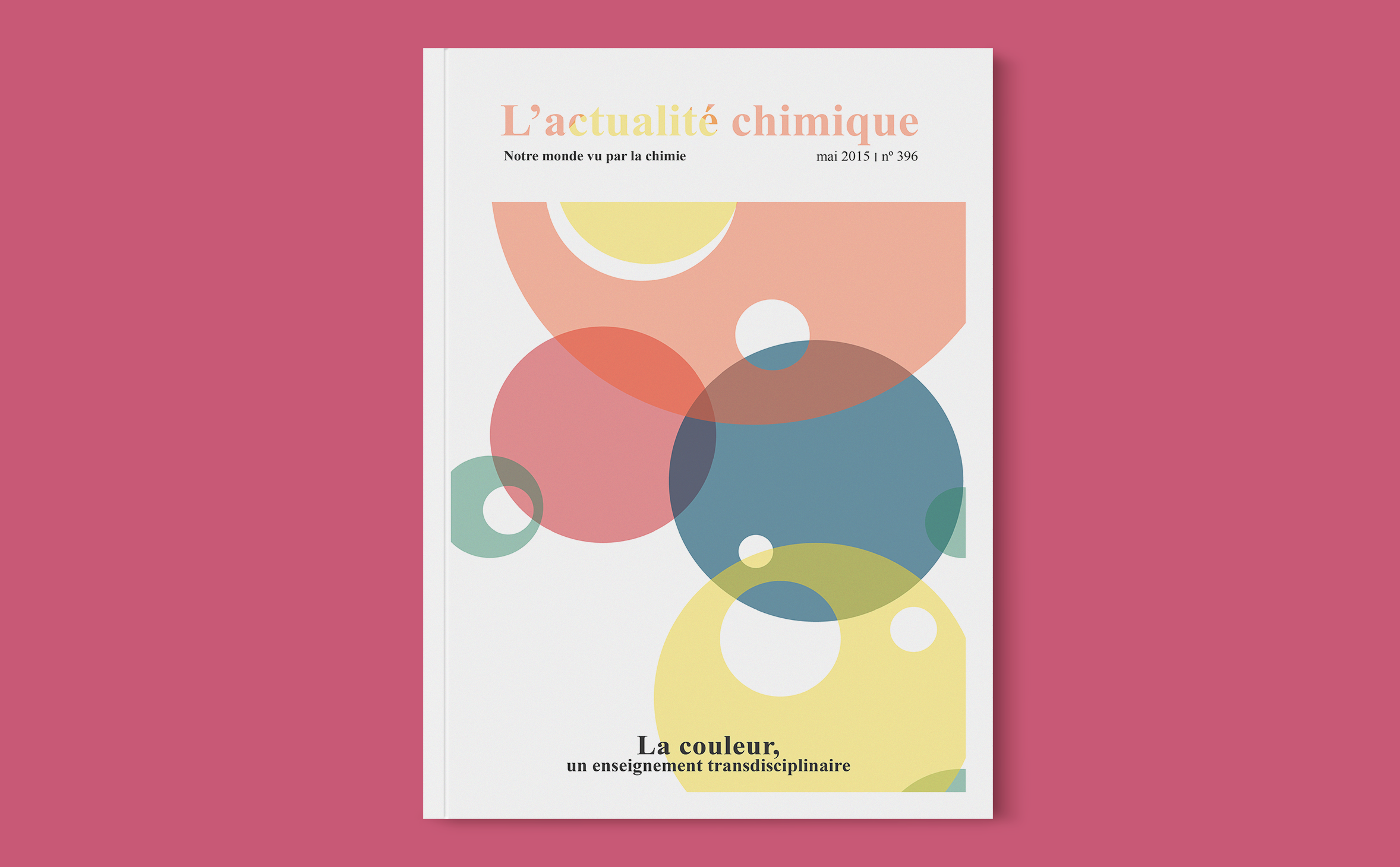 Cover proposals for L'actualité chimique magazine