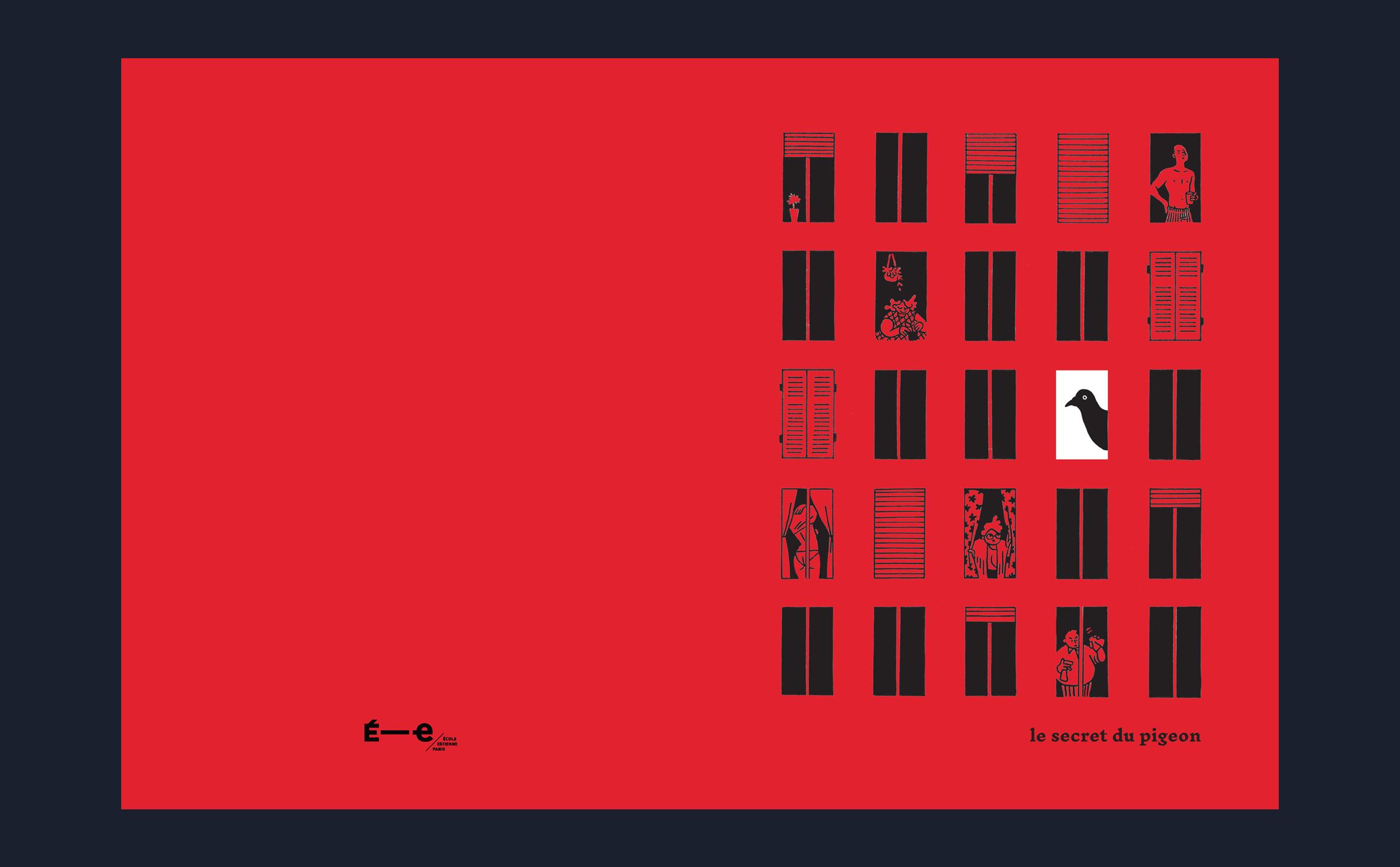 Cover of Le Secret du Pigeon, Master's thesis on urban evolution